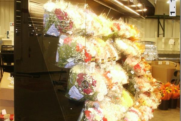 Open floral cooler - Borgen Systems