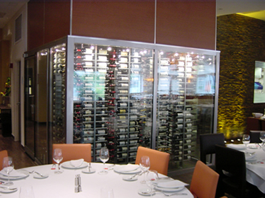 Wine Cellar Display - Borgen Systems