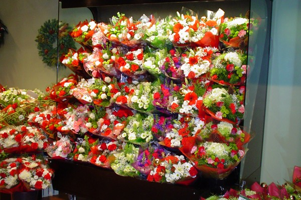 Floral baskets open floral refrigerated system - Borgen