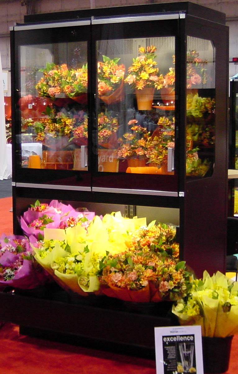 Floral Hutch Case Borgen Systems