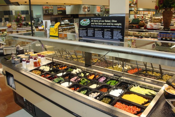 Grocery store hot and cold bar - Borgen Systems
