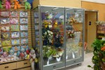 2 door refrigerated flower case - Borgen Systems