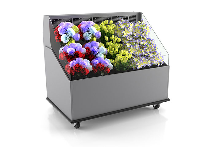 5-Foot Low Profile Floral Self-Contained